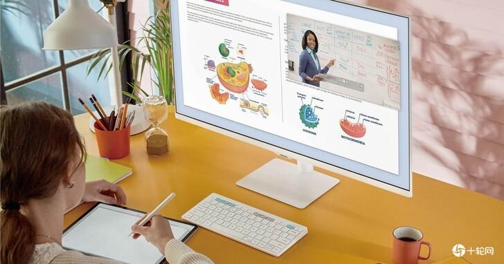 三星智能联网屏幕Smart Monitor M7白色限定款登台